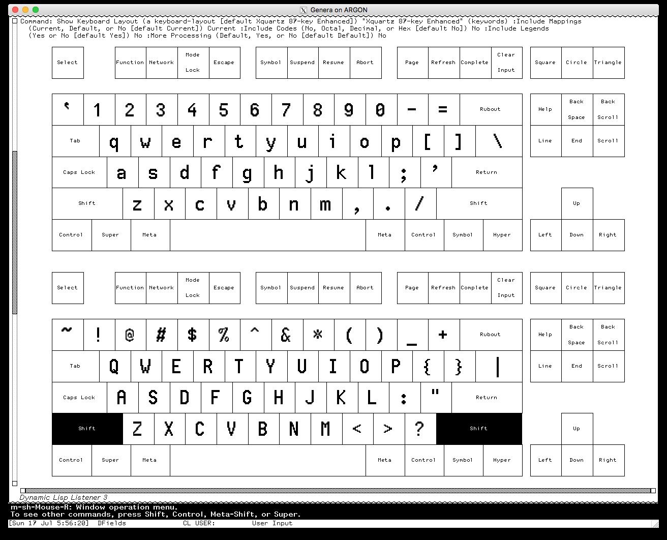 Enhanced X11 Keyboard