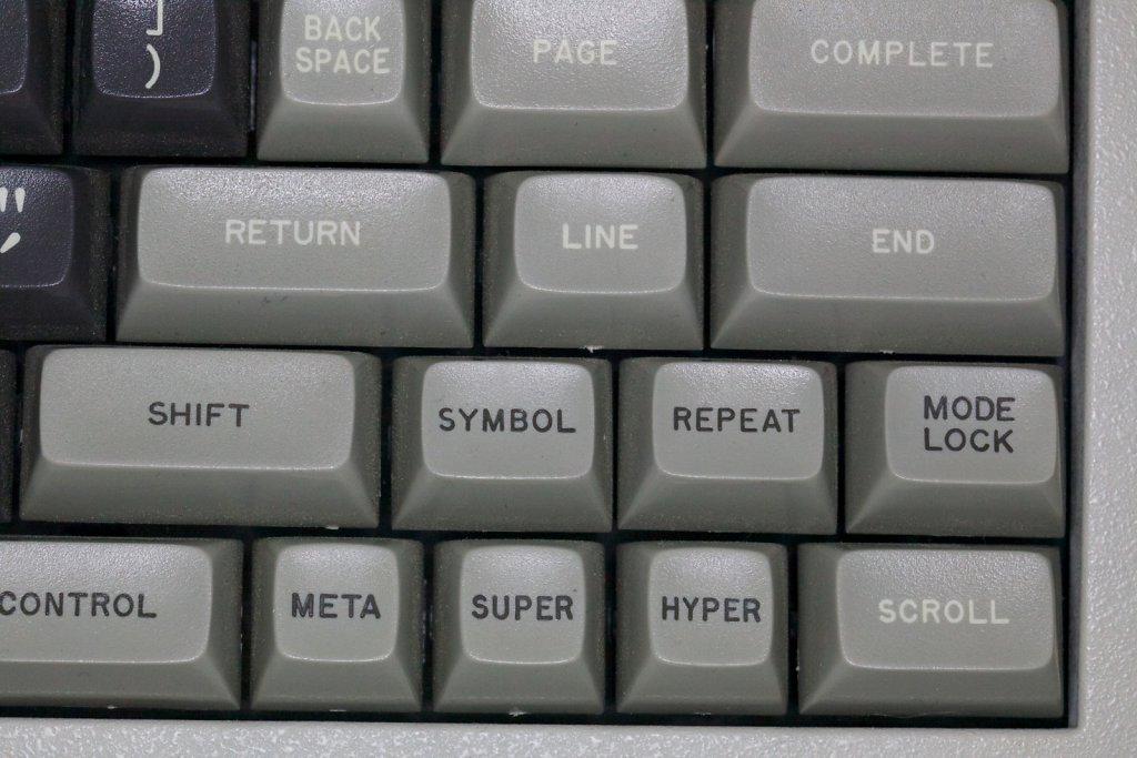 Symbolics 3600 Keyboard