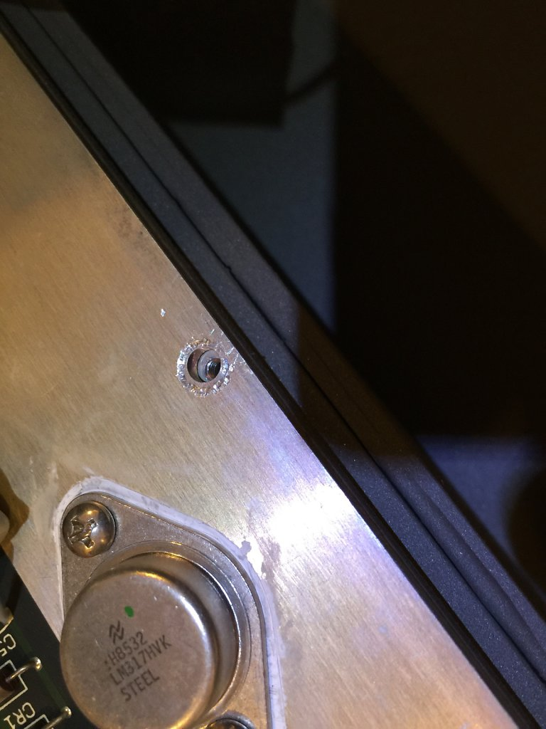 Missing Screw