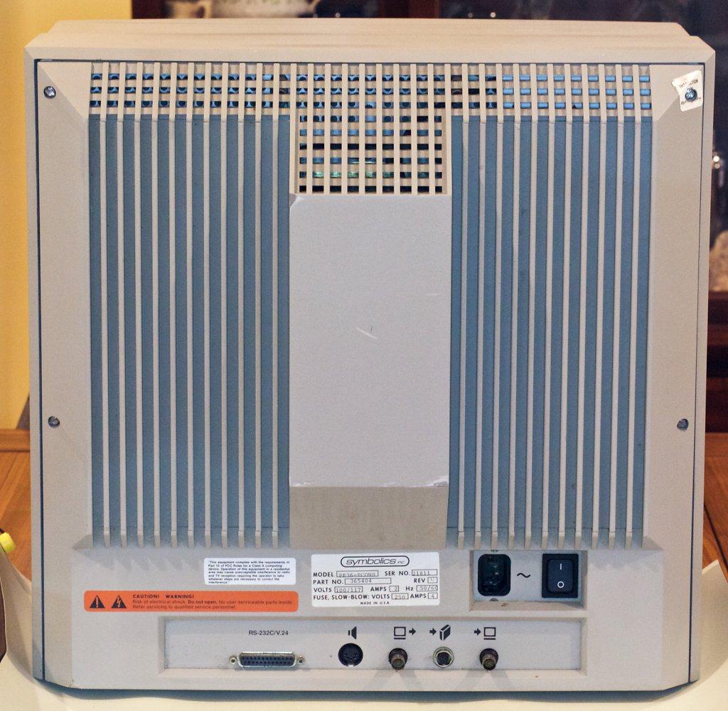 Console Rear